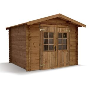Abri de jardin madeira monda pin trait autoclave emboit for Abri de jardin en bois traite autoclave pas cher