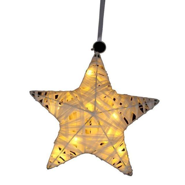 BOULE DE NOEL   DECORATION DE SAPIN Suspension de Noël étoile en