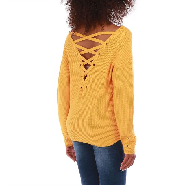 the best attitude 338a0 d65c4 pull-orange-en-maille-oversized-a-lacets.jpg