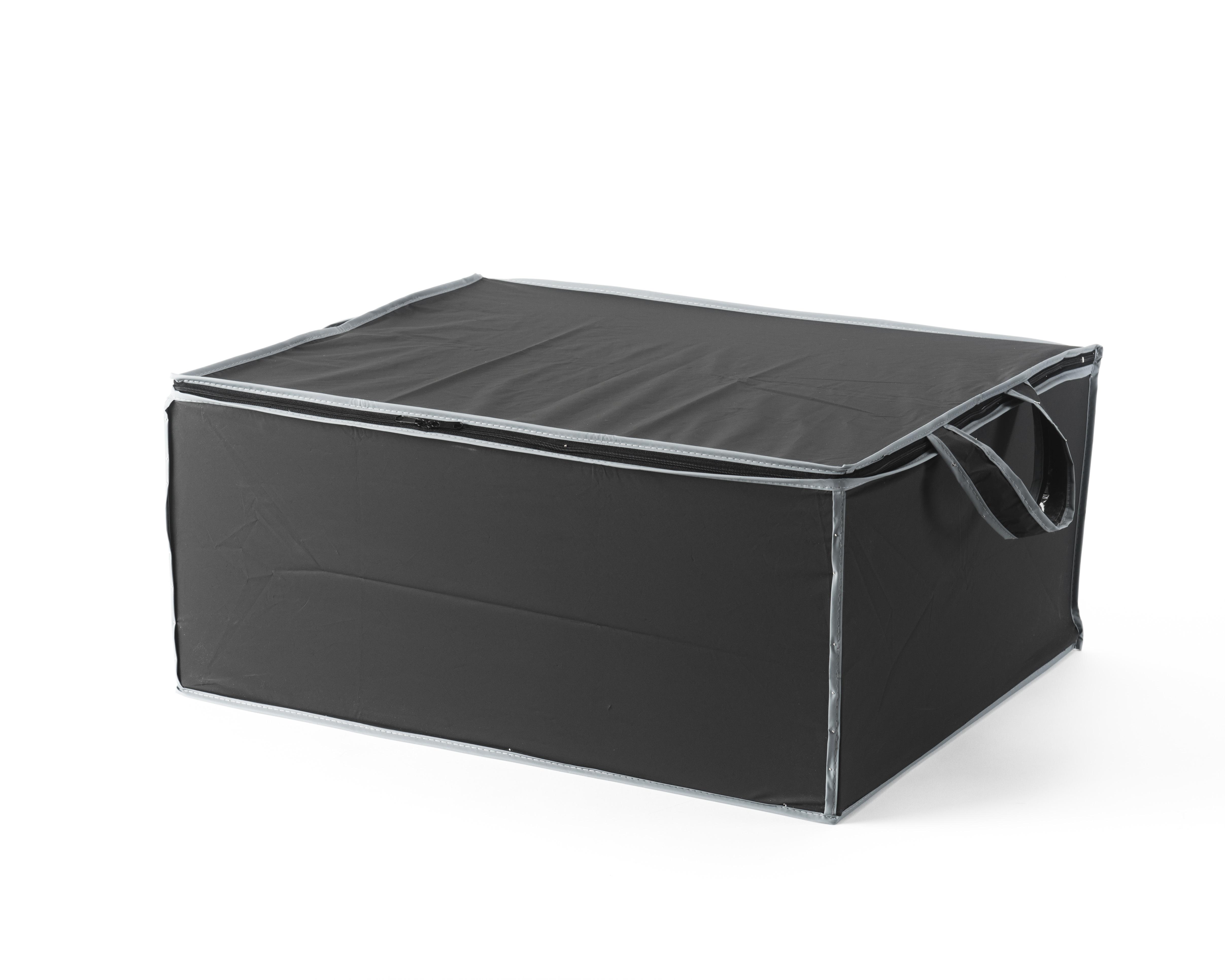compactor urban housse pour couette size1 noir ran6273 pas cher achat vente housse. Black Bedroom Furniture Sets. Home Design Ideas
