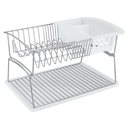 Egouttoir à vaisselle GeniusTex à 2 niveaux