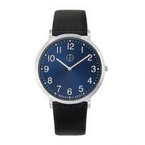 Trendyclassic - Montre Homme Trendy Classic modèle Lansen Bleue et Noire - Cc1032-05 - cadeau idéal