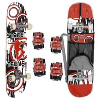 Street Teens - Skate Coudieres et Genouilleres et sac de transport