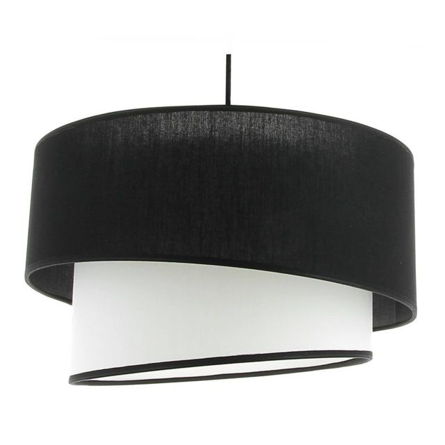 luminaires noir blanc achat vente de luminaires pas cher. Black Bedroom Furniture Sets. Home Design Ideas