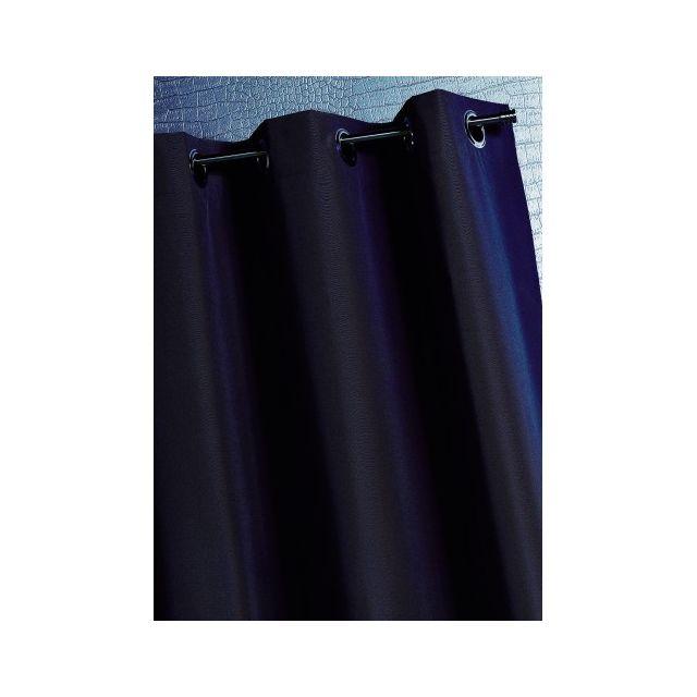 homemaison doublure obscurcissante et thermique oeillets pas cher achat vente rideaux. Black Bedroom Furniture Sets. Home Design Ideas