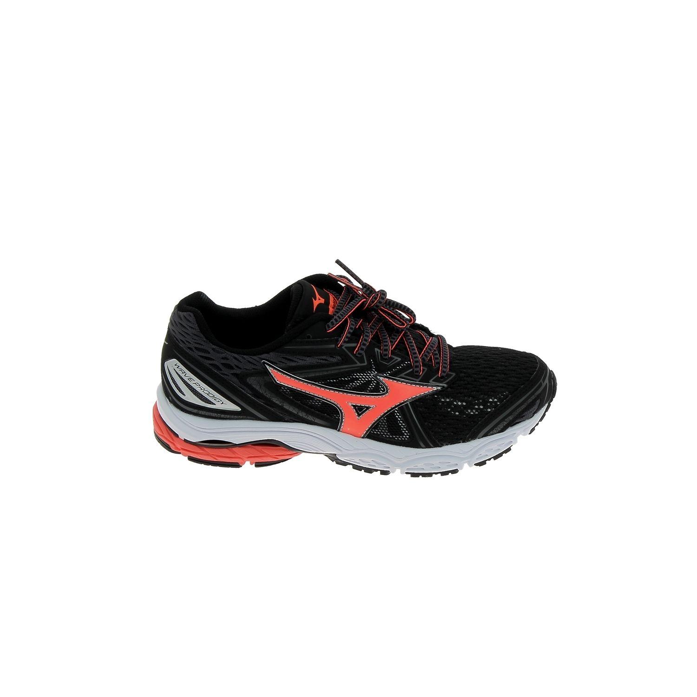 Mizuno - Wave Prodigy Noir Rose - pas cher Achat / Vente Chaussures running