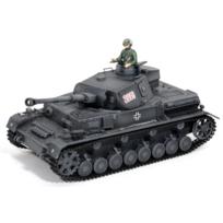TORRO - Char 1/16 Panzer IV Grey BB sons et fumées