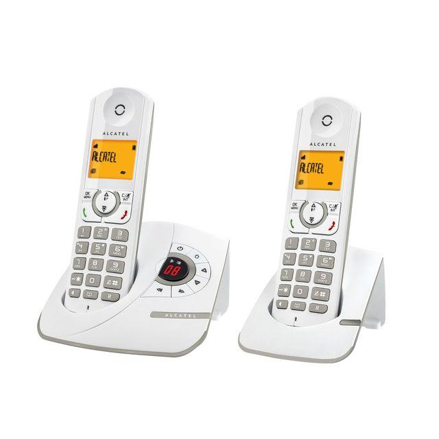 alcatel t l phone fixe sans fil avec r pondeur f330. Black Bedroom Furniture Sets. Home Design Ideas