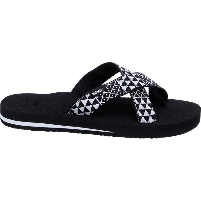 Teva Mush Kalea - Sandales - blanc/noir
