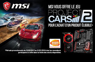 Project Cars 2 MSI