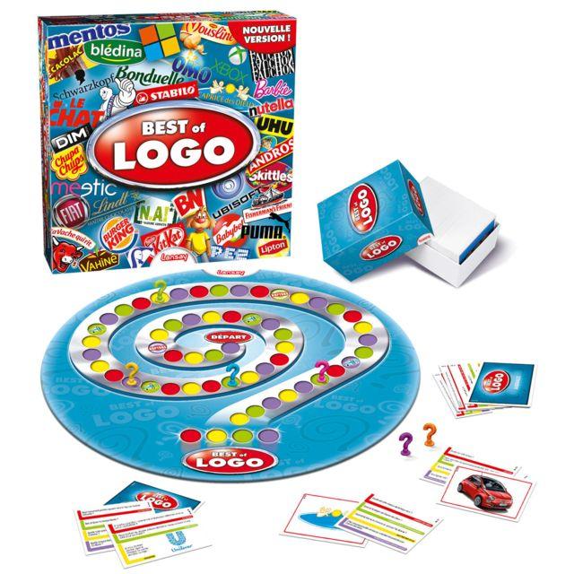 LANSAY Best of Logo Best of Logo... Le grand jeu sur vos marques et produits préférés est de retour dans une toute nouvelle version !Contenu :- 396 cartes dans une boîte : des cartes illsutrées, des cartes thématiques, des cartes aléatoires et des cartes