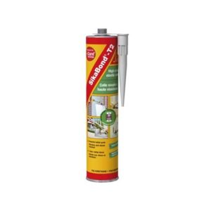 Sika colle mastic blanc cartouche de 300 ml sikabond t2 i cure pas cher achat vente - Nettoyer mastic colle sika ...