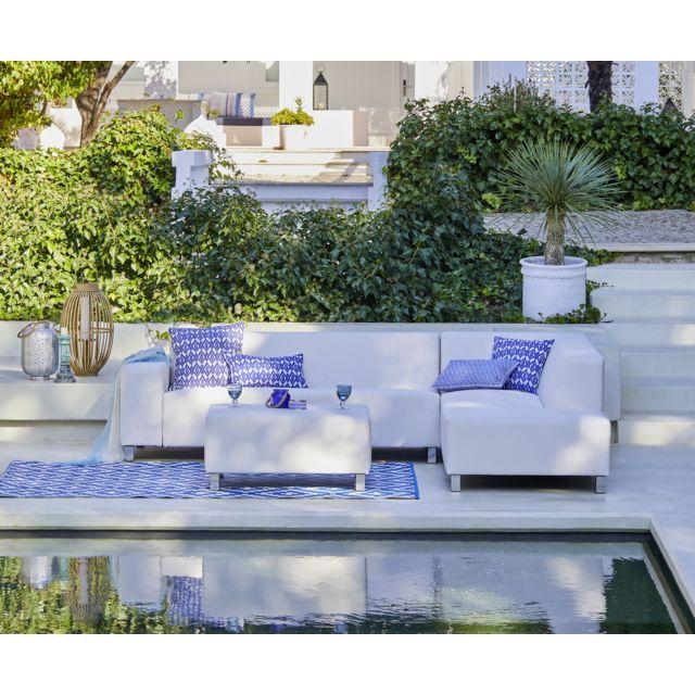 COSI - Salon d\'angle Marbella - blanc - pas cher Achat / Vente ...