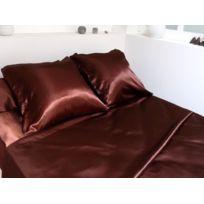 Zzz - Parure de Lit Satin Chocolat