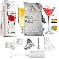Touslescadeaux - Grand Kit Coffret Cocktail Moléculaire cuisine moléculaire, avec Dvd de 30 recettes