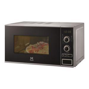 MANDINE - Micro-ondes - 20L - 700 W - Pose libre - Gris/Noir