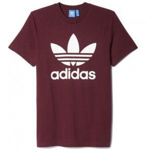 tee shirt adidas rouge bordeaux