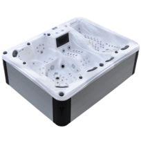 Jacuzzi Grande Taille.Spa Levitation Aluminium 7 Places Blanc 2 9 X 2 3 X 0 98 M