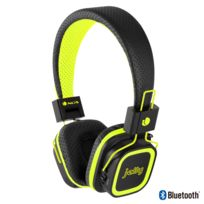 Ngs Technology - Casque Bluetooth Avec Microphone Et EntrÉE Carte Micro Sd yellow jelly