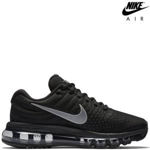 WMNS Nike Air Max 2017 - 849559-010 argent / noir / silver / black - 2017, air max 2017, 2017 noir, 849559-010, nike