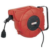 Ribitech - Dévidoir automatique de câble électrique 22m - Prdae22