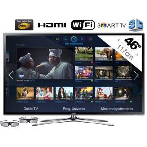 samsung ue46f6320 t l viseur led 3d 46 39 39 117cm hdtv 1080p smart tv wi fi int gr. Black Bedroom Furniture Sets. Home Design Ideas