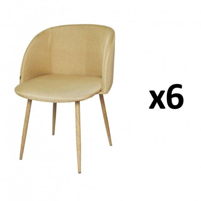 ZOLI99 CHAISE Retro lot de 6 fauteuils industriels noir