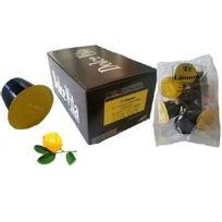 Dolce Vita - pack de 50 capsules de thé citron compatible nespresso - capsule n the citron x50