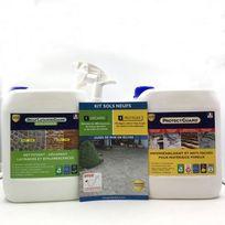 Guard Industrie - Pack Nettoyer et décaper un sol neuf et poreux
