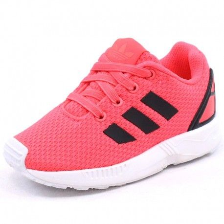 new product efb12 ea77c Adidas originals - Chaussures Zx Flux Rose Bébé Fille Adidas