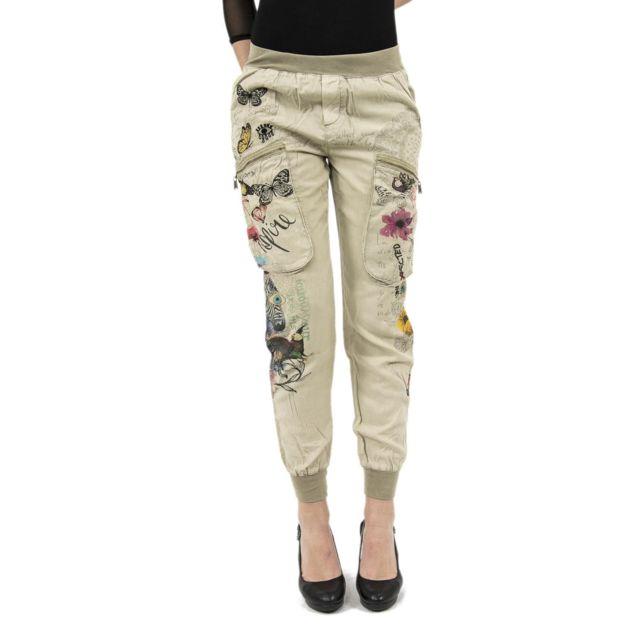 pantalon femme desigual
