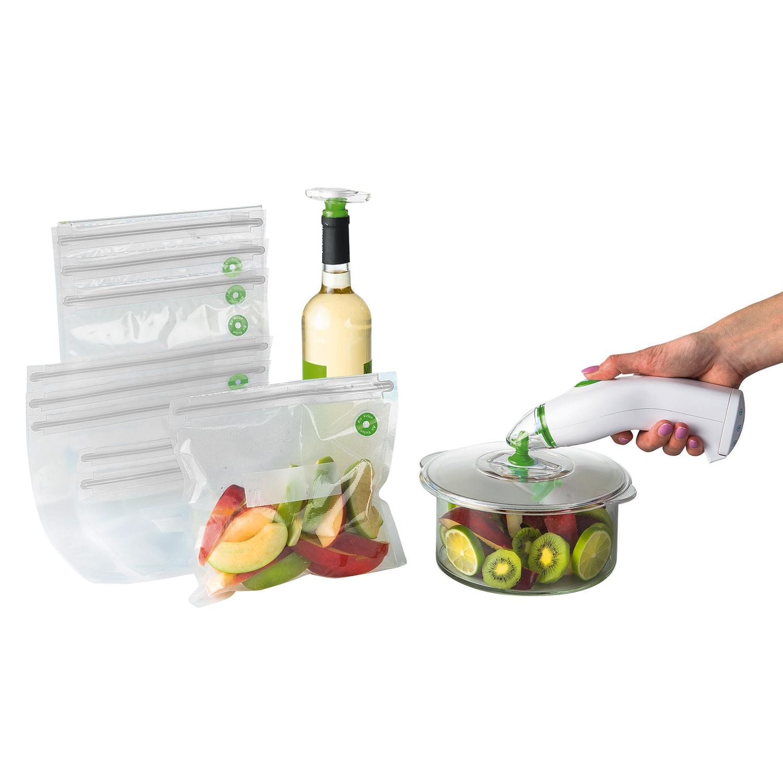 domoclip kit de mise sous vide alimentaire dom333 pas cher achat vente appareil de mise. Black Bedroom Furniture Sets. Home Design Ideas