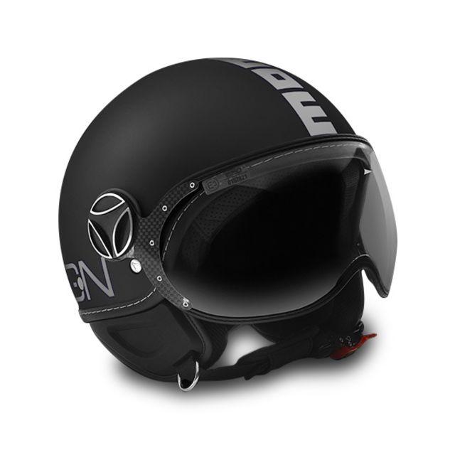 momo design casque fighter classic noir pas cher achat vente casques jet rueducommerce. Black Bedroom Furniture Sets. Home Design Ideas