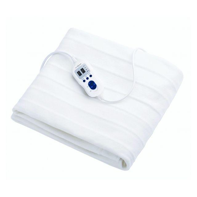 alpina chauffe lit lectrique 70 x 150cm 60w t l commande 9 niveaux temporisation 1 9. Black Bedroom Furniture Sets. Home Design Ideas