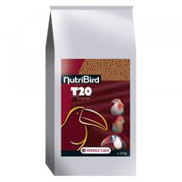 Nutribird - Aliments T20 Versele Laga pour grands frugivores Sac 10 kg
