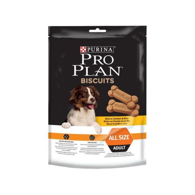 Proplan Pro Plan Lot de 4 biscuits friandises au poulet - 400 g - Pour chien