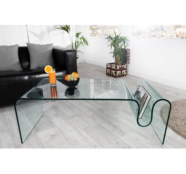 CHLOE DESIGN Table basse design Erina - transparent
