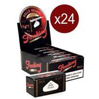 Smoking - Bte De 24 Rlx De Feuilles Rolls Deluxe RLX De 4 Metres