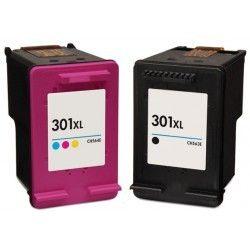 marque generique hp pack n 301xl cartouches compatibles pas cher achat vente pack de. Black Bedroom Furniture Sets. Home Design Ideas