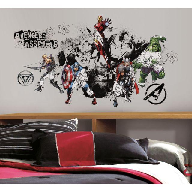 Roommates - Stickers Avengers Assemble Marvel Multicolore