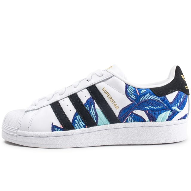 Adidas originals - Superstar Canvas Bleue