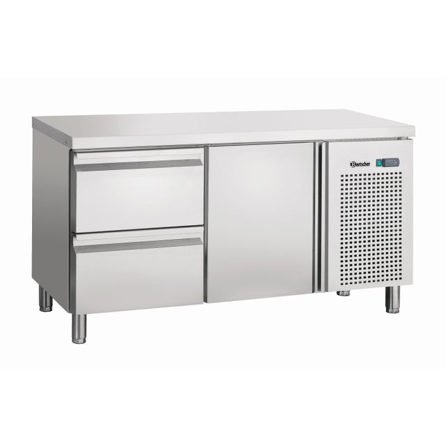 Bartscher Table refrigeree froid ventile, 1T, 2SL