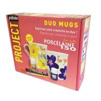 Pébéo - Kit De Peinture Sur Porcelaine Pebeo - Duo Mugs