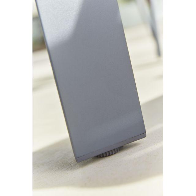 HYBA - URBAN - Fauteuil de jardin Alu152 gris graphite