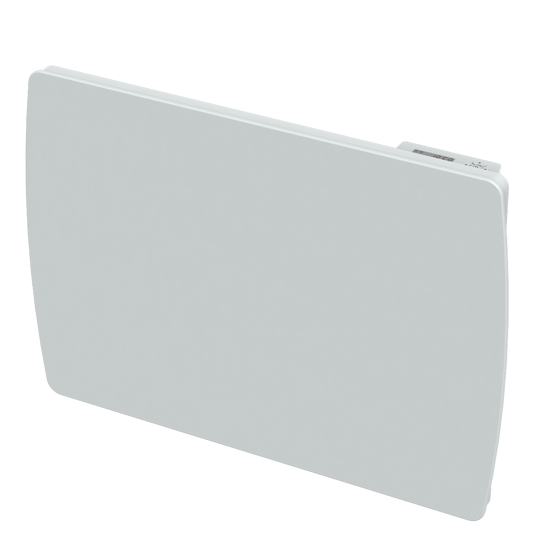 CARRERA - Radiateur inertie à cœur céramique - Verre blanc -1000W- LCD