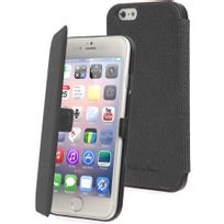 Muvit - Etui folio Made in Paris noir iPhone 6 4.7 pouces