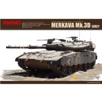 Men model - Maquette Char : Char de bataille principal israélien Merkava Mk.3D