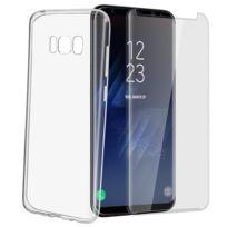 Avizar - Pack de protection Coque + Film verre trempé Samsung Galaxy S8 Plus