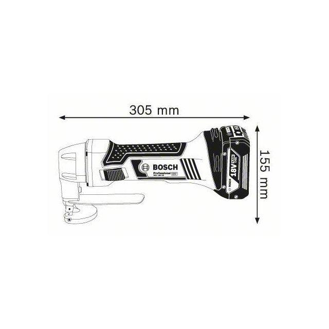 Grignoteuse sans Fil GNA 18V-16 Professional 0601529500