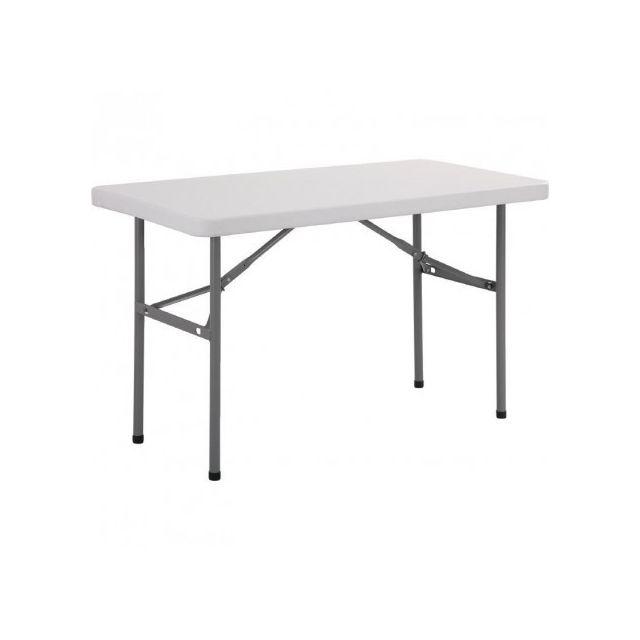 Materiel Chr Pro Table Rectangulaire Pliante Bolero 1220 mm